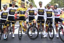 Hé lộ những đồng đội giúp Geraint Thomas đăng quang ở Tour de France 2018