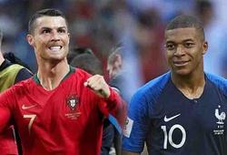 """Có thật Mbappe vẫn """"hít khói"""" Ronaldo về khoản chạy nhanh nhất World Cup 2018?"""