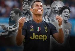 Thống kê khó tin chỉ ra Ronaldo sẽ theo bước các huyền thoại chinh phục cả Serie A?