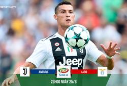Juventus bắn phá Lazio bằng duyên ghi bàn của Ronaldo tại Juventus Stadium