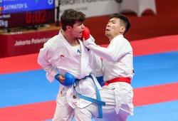 Màn thể hiện của Nguyễn Văn Hải trong trận tranh HCĐ Kumite hạng 60kg tại ASIAD 2018