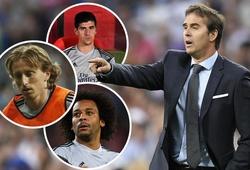 """CĐV Real """"choáng"""" với cách HLV Lopetegui sử dụng những ngôi sao Courtois, Modric và Marcelo khó hiểu"""