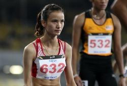 Phần thi của Vũ Thị Ly ở nội dung chạy 800m nữ tại ASIAD 2018