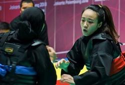 Màn thể hiện của Nguyễn Thị Cẩm Nhi trong trận chung kết Pencak Silat tại ASIAD 2018
