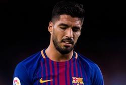 Luis Suarez lọt Top 5 ngôi sao sụt giá thảm hại trên thị trường chuyển nhượng