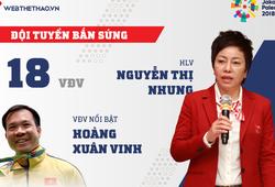 Thông tin đội tuyển bắn súng Việt Nam tham dự ASIAD 2018