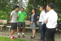 Nhà tài trợ chính Nuti Café V.League tư vấn dinh dưỡng cho thầy trò HLV Miura