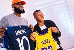 LeBron James đến Paris gặp Kylian Mbappe và Neymar: Hai hoàng tử bóng đá diện kiến nhà vua NBA