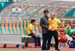 HLV Park Hang Seo bất mãn với Olympic UAE vì câu giờ chờ đá penalty