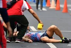 Nhật Bản giành HCV ASIAD đi bộ 50km nhờ...cắt rách áo