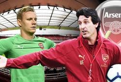 Hé lộ lý do khiến HLV Emery chưa trao cơ hội bắt chính cho Leno ở Arsenal