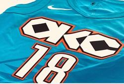 Lộ ảnh áo đấu City Edition mới toanh và cực đẹp của Oklahoma City Thunder