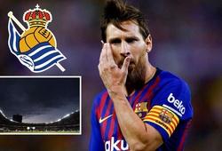 Barcelona có sợ lời nguyền Anoeta cắt đứt mạch thắng tại La Liga?