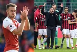 Aaron Ramsey đang ở rất gần AC Milan