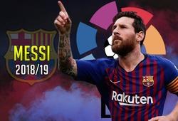 """Messi và Barcelona thống trị """"Sách kỷ lục Guinness"""" 2018/19 của La Liga"""