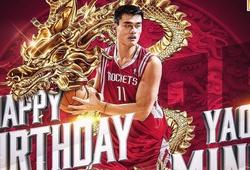 Rockets sẽ làm lớn mừng sinh nhật huyền thoại Trung Quốc Yao Ming