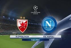 Nhận định tỷ lệ cược kèo bóng đá tài xỉu trận Crvena Zvezda vs Napoli