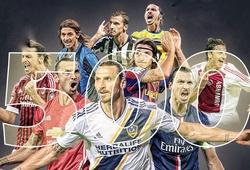 Zlatan Ibrahimovic cán mốc 500 bàn thắng trong sự nghiệp như thế nào?