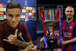Coutinho không đặt mình bên cạnh huyền thoại Iniesta