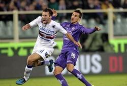 Nhận định tỷ lệ cược kèo bóng đá tài xỉu trận Sampdoria vs Fiorentina