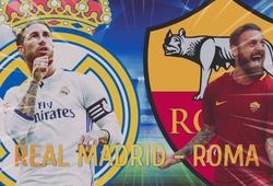 Kỷ lục đợi Real Madrid san phẳng và những thống kê thú vị trận gặp AS Roma