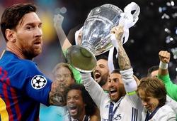Hat-trick của Messi là điềm lành báo hiệu chức vô địch cho... Real Madrid