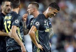 Ronaldo sẽ bị treo giò mấy trận sau khi nhận thẻ đỏ khó tin trước Valencia?