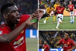 Pogba rực sáng và top 5 điểm nhấn đáng chú ý trong chiến thắng đậm của Man Utd