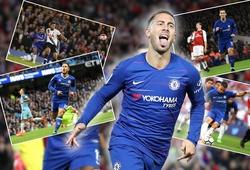 Lập siêu phẩm vào lưới Liverpool, choáng với số lần Hazard hủy diệt Big Six