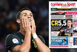 Sau màn tâng bốc, Ronaldo bắt đầu bị truyền thông Italia tấn công vì tịt ngòi