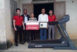 Thủ môn U23 Việt Nam, ngôi nhà nhỏ và chiếc máy chạy bộ... to hơn cửa ra vào
