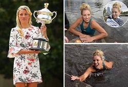 Bên lề Australian Open 2016: Nữ hoàng mới ăn mừng trong... nước
