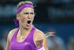 """Azarenka """"giải hạn"""" với chức vô địch ở Brisbane"""