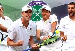 """Bán kết Wimbledon: Roger Federer trong vòng vây """"người khổng lồ"""""""