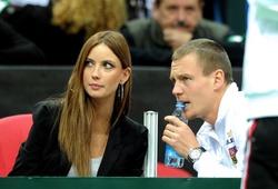 Bên lề Australian Open 2016: Vợ đẹp át vía Berdych