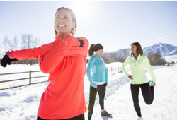 Bí quyết tập luyện an toàn mùa lạnh