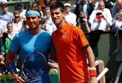Bốc thăm phân cặp Roland Garros: Nadal cùng nhánh với Djokovic