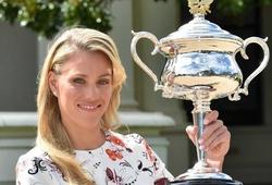 """Chiếc cúp Australian Open 2016 của Kerber """"không cánh mà bay"""""""