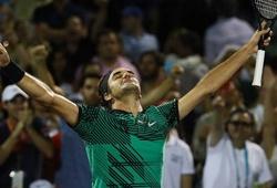 Đánh bại Kyrgios, Federer tái ngộ Nadal ở chung kết Miami Open