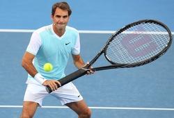 Federer vui đùa tại sự kiện Kid's Tennis Day