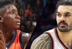 Oklahoma Thunder gia hạn hợp đồng với Adams và Oladipo
