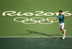 Quần vợt Olympic 2016: Djokovic gặp khó ngay vòng 1