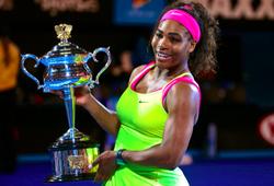 Serena đạt cột mốc mới trong sự nghiệp ở vị trí số 1 thế giới