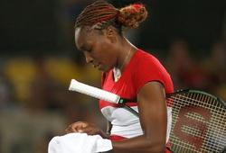 Olympic 2016: Venus Williams gục ngã ngay vòng 1