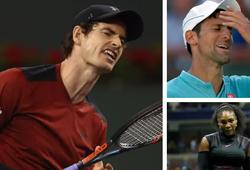 Vì sao nhiều tay vợt hàng đầu đồng loạt chấn thương?