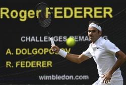 Wimbledon ngày 2: Roger Federer đi vào lịch sử giải đấu