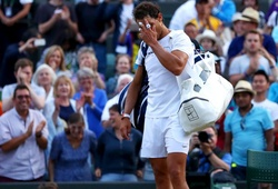 "Wimbledon ngày 7: Nadal gục ngã sau trận ""marathon"" gần 5 giờ"