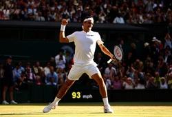 Wimbledon ngày 9: Federer lập kỷ lục ở trận đấu thứ 100