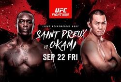 UFC FN 117: Ovince Saint Preux lại thắng bằng đòn siết cực hiếm