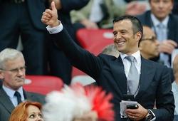"Jorge Mendes ""giật dây"" Man Utd bỏ Van Gaal mời Jose Mourinho?"